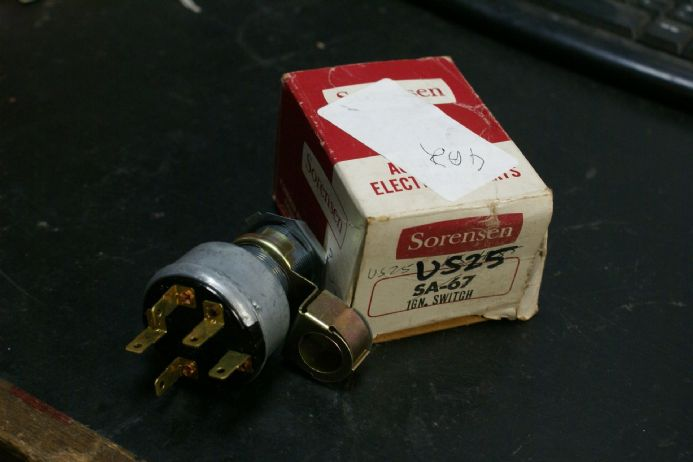 GM  Ignition Switch Sorensen SA-67 US-25 5-Pole